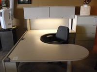 Used Office Desks Steelcase Context U shape
