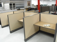 Cubicles 4x4 Herman Miller call center