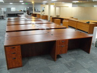 Used Office Desks Used 6' laminate desks